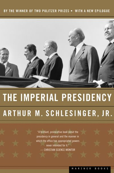 Buy The Imperial Presidency at Amazon
