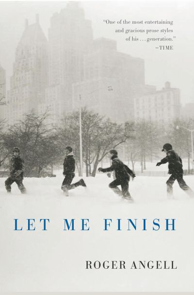 Buy Let Me Finish at Amazon