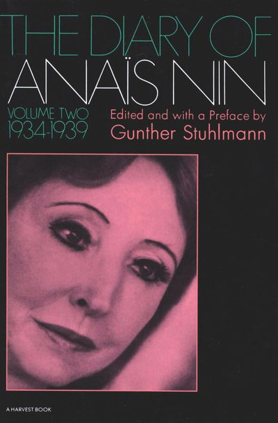 The Diary of Anaïs Nin, 1934–1939