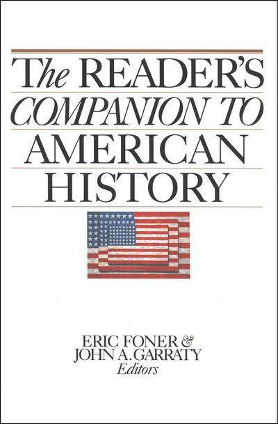 Buy The Reader's Companion to American History at Amazon