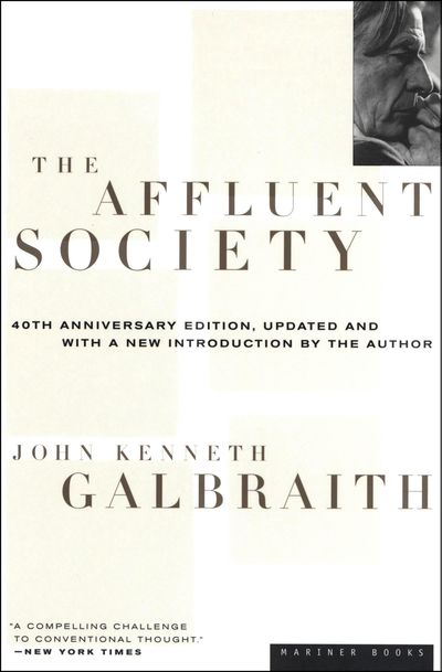 Buy The Affluent Society at Amazon
