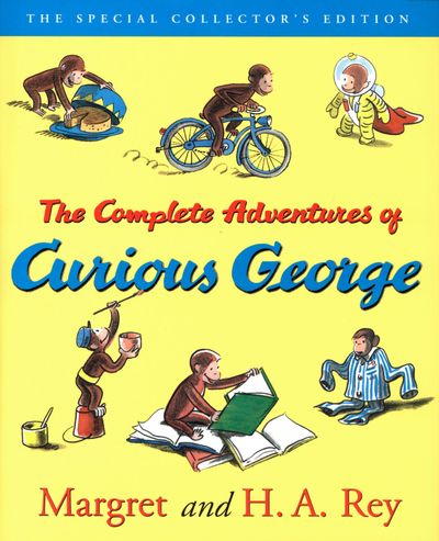 Buy The Complete Adventures of Curious George at Amazon