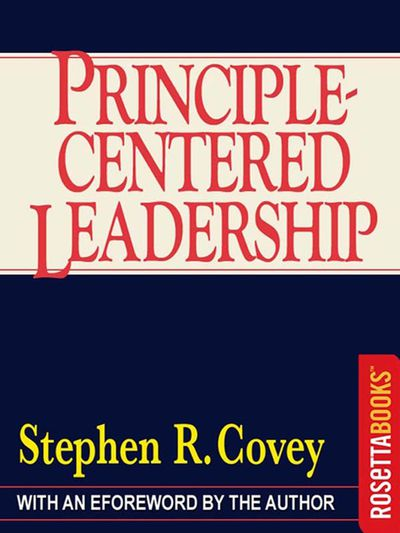 Buy Principle-Centered Leadership at Amazon