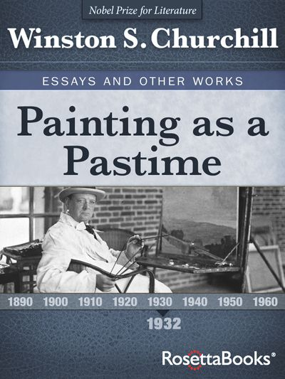 Buy Painting as a Pastime, 1932 at Amazon