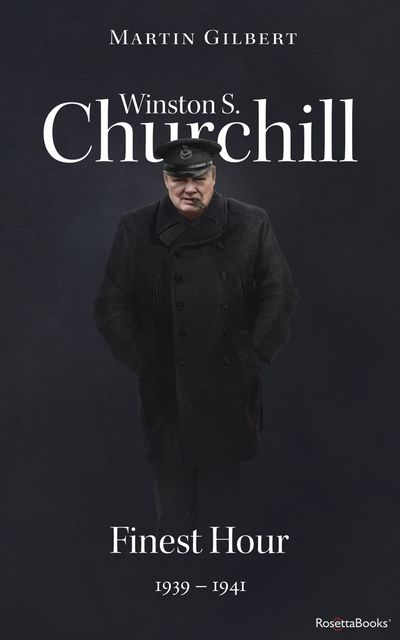 Buy Winston S. Churchill: Finest Hour, 1939–1941 at Amazon