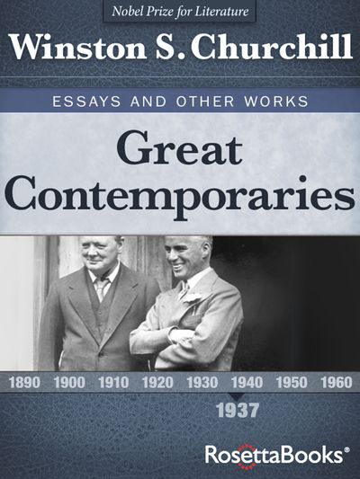 Buy Great Contemporaries at Amazon