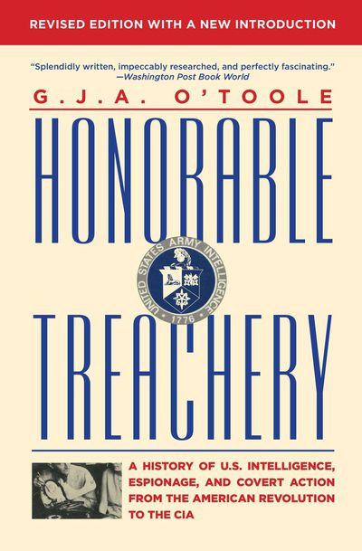 Buy Honorable Treachery at Amazon