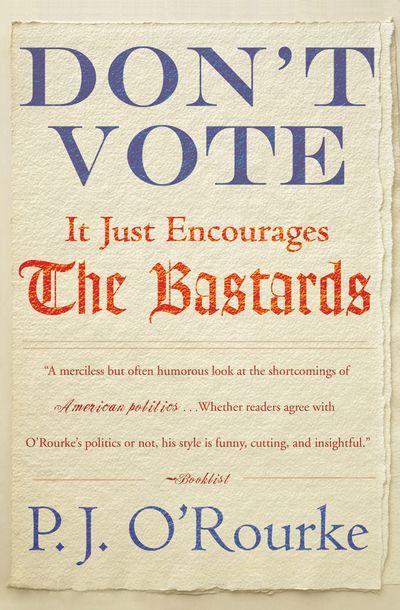 Buy Don't Vote at Amazon
