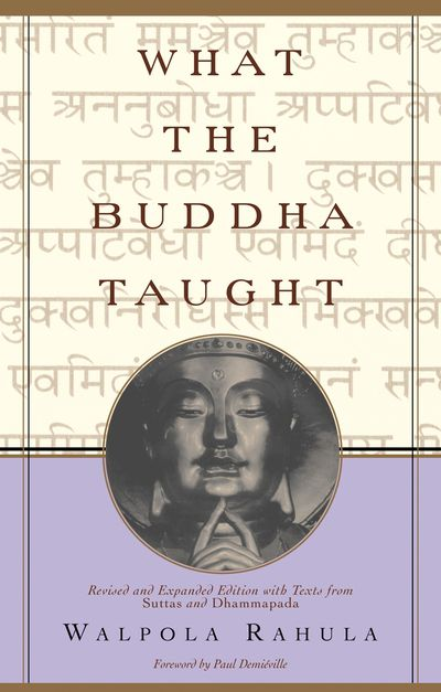 Buy What the Buddha Taught at Amazon
