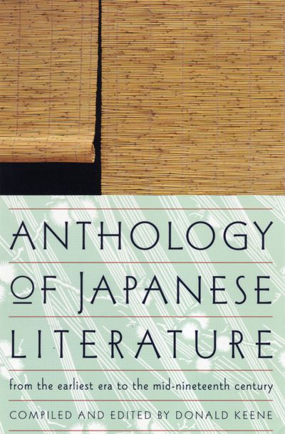 Buy Anthology of Japanese Literature at Amazon
