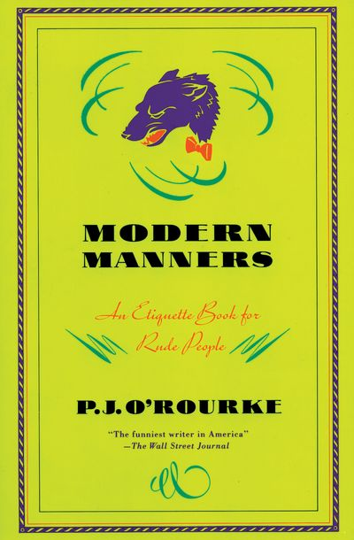 Buy Modern Manners at Amazon