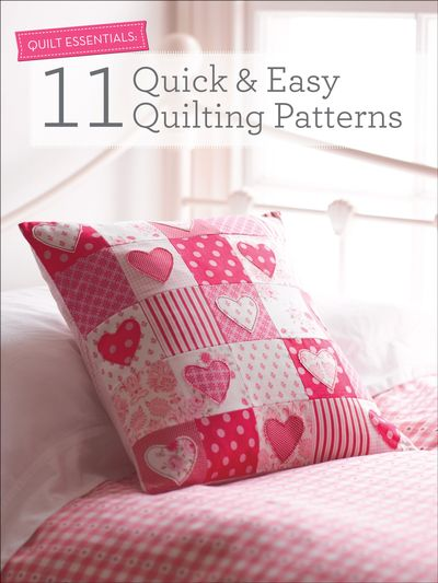 Buy 11 Quick & Easy Quilting Patterns at Amazon