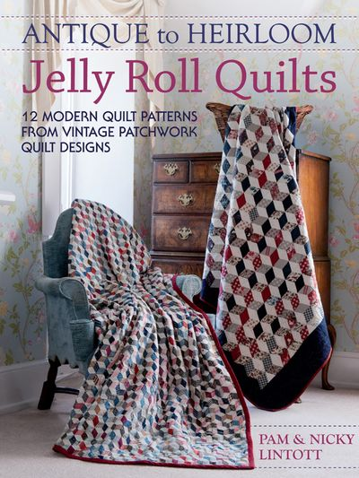 Buy Antique to Heirloom Jelly Roll Quilts at Amazon
