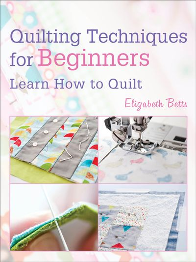 Buy Quilting Techniques for Beginners at Amazon