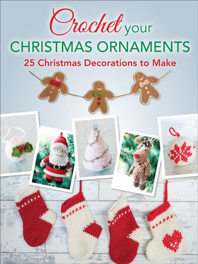 Buy Crochet Your Christmas Ornaments at Amazon