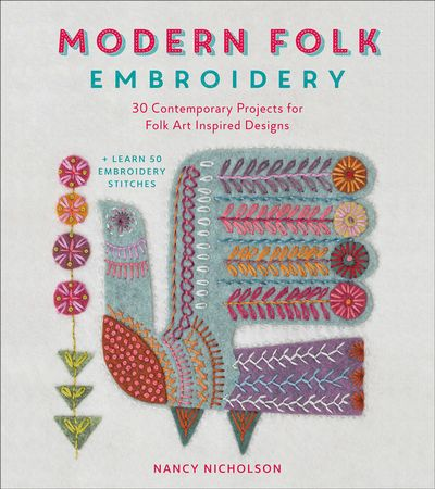 Buy Modern Folk Embroidery at Amazon