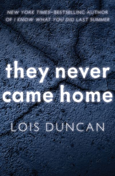 Buy They Never Came Home at Amazon