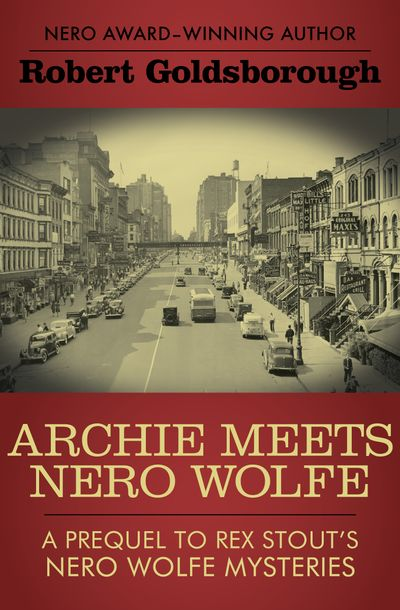 Buy Archie Meets Nero Wolfe at Amazon