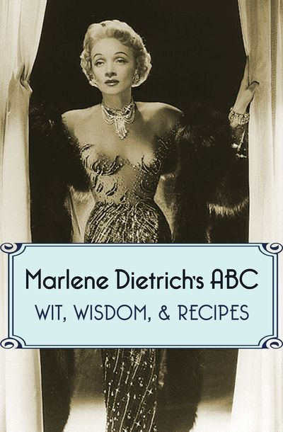 Buy Marlene Dietrich's ABC at Amazon