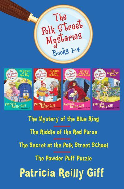 Buy The Polk Street Mysteries Books 1–4 at Amazon