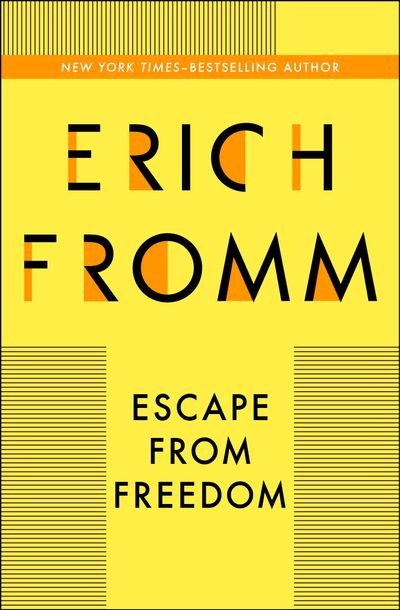 Buy Escape from Freedom at Amazon