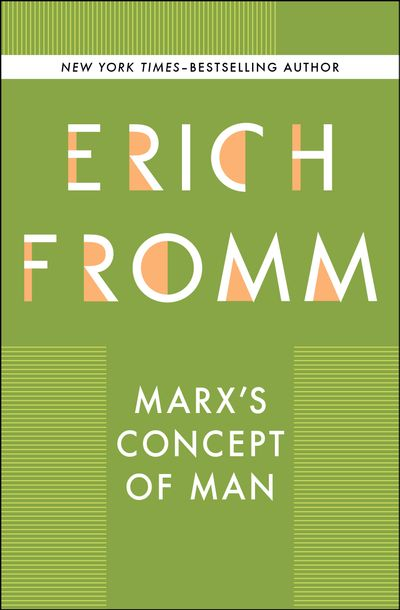 Buy Marx's Concept of Man at Amazon