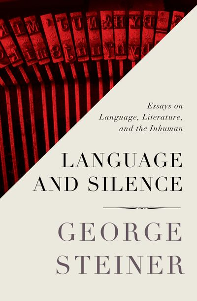 Buy Language and Silence at Amazon
