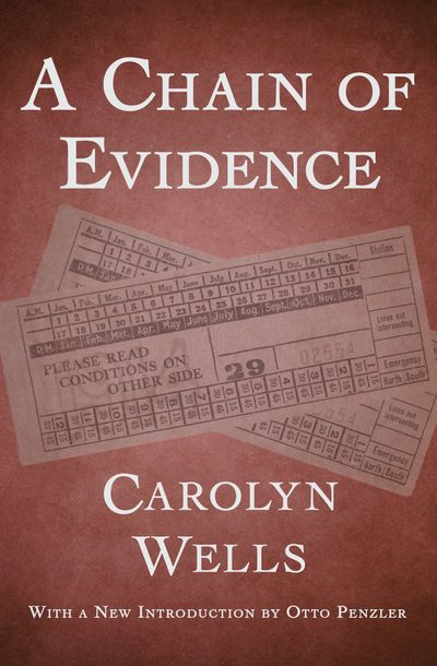 Buy A Chain of Evidence at Amazon