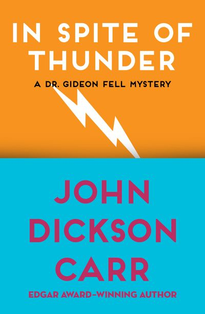 Buy In Spite of Thunder at Amazon