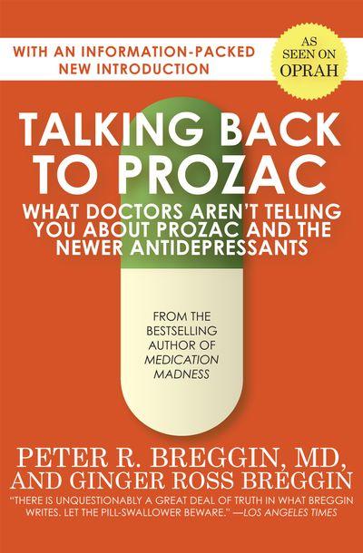 Buy Talking Back to Prozac at Amazon