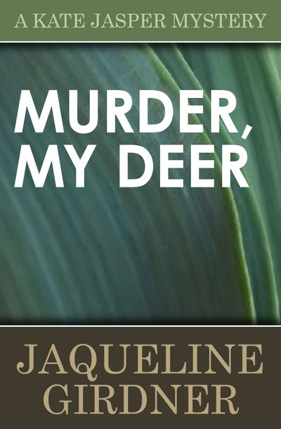 Buy Murder My Deer at Amazon