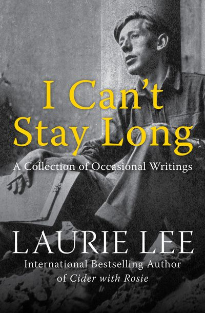 Buy I Can't Stay Long at Amazon