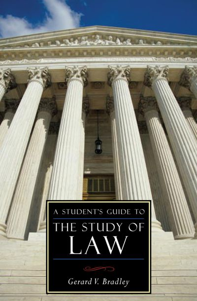 Buy A Student's Guide to the Study of Law at Amazon