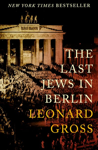 Buy The Last Jews in Berlin at Amazon