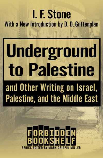 Buy Underground to Palestine at Amazon