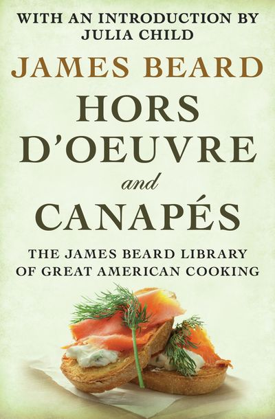 Buy Hors d'Oeuvre and Canapés at Amazon