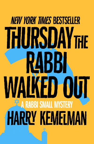 Buy Thursday the Rabbi Walked Out at Amazon