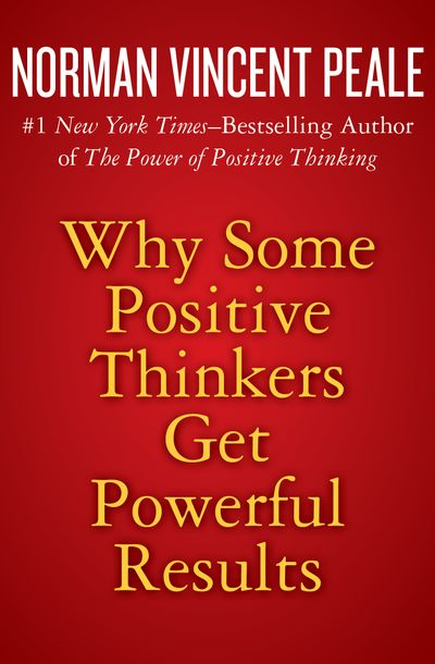 Buy Why Some Positive Thinkers Get Powerful Results at Amazon