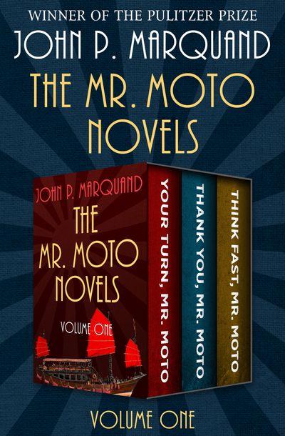 Buy The Mr. Moto Novels Volume One at Amazon
