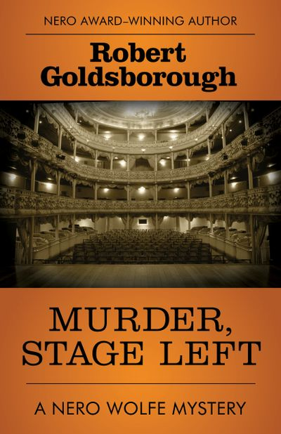 Buy Murder, Stage Left at Amazon