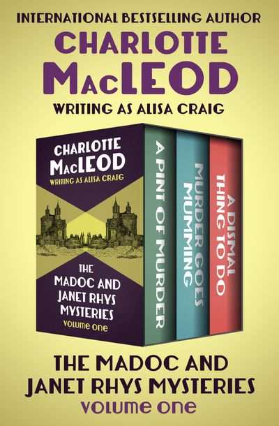 Buy The Madoc and Janet Rhys Mysteries Volume One at Amazon