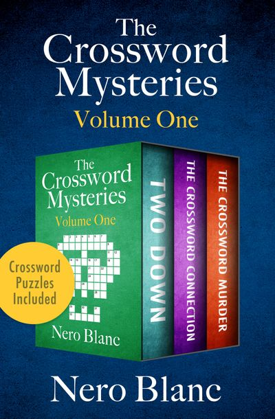 The Crossword Mysteries Volume One
