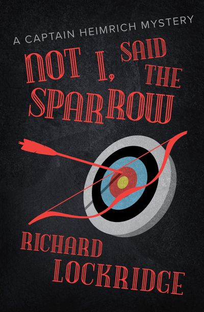 Buy Not I, Said the Sparrow at Amazon