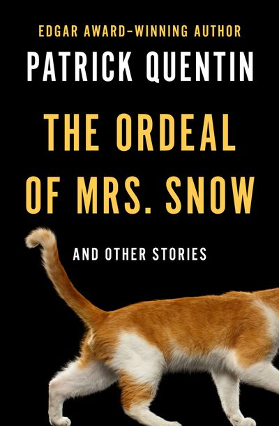 Buy The Ordeal of Mrs. Snow at Amazon