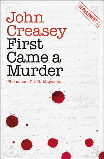 Buy First Came a Murder at Amazon