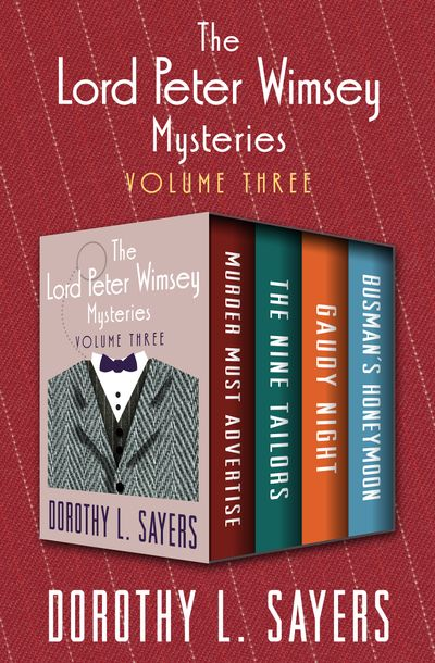 Buy The Lord Peter Wimsey Mysteries Volume Three at Amazon