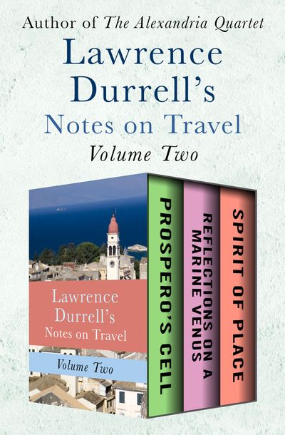 Buy Lawrence Durrell's Notes on Travel Volume Two at Amazon