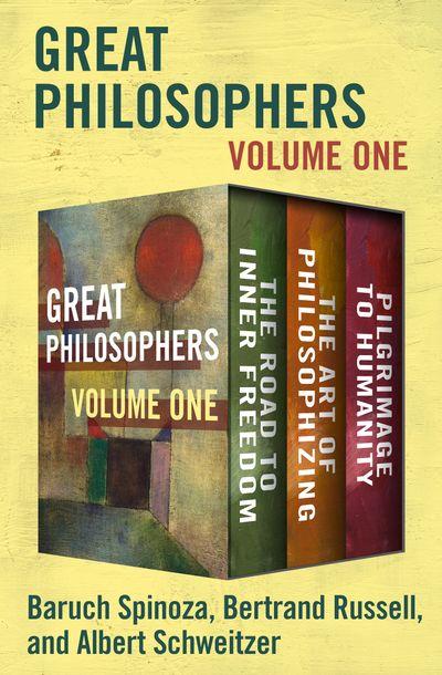 Buy Great Philosophers Volume One at Amazon