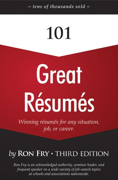Buy 101 Great Résumés at Amazon