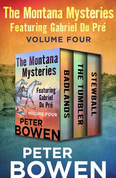 Buy The Montana Mysteries Featuring Gabriel Du Pré Volume Four at Amazon